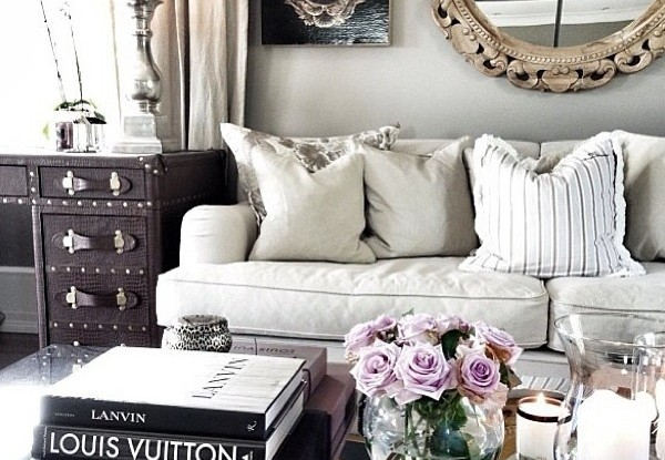 small elegant living room