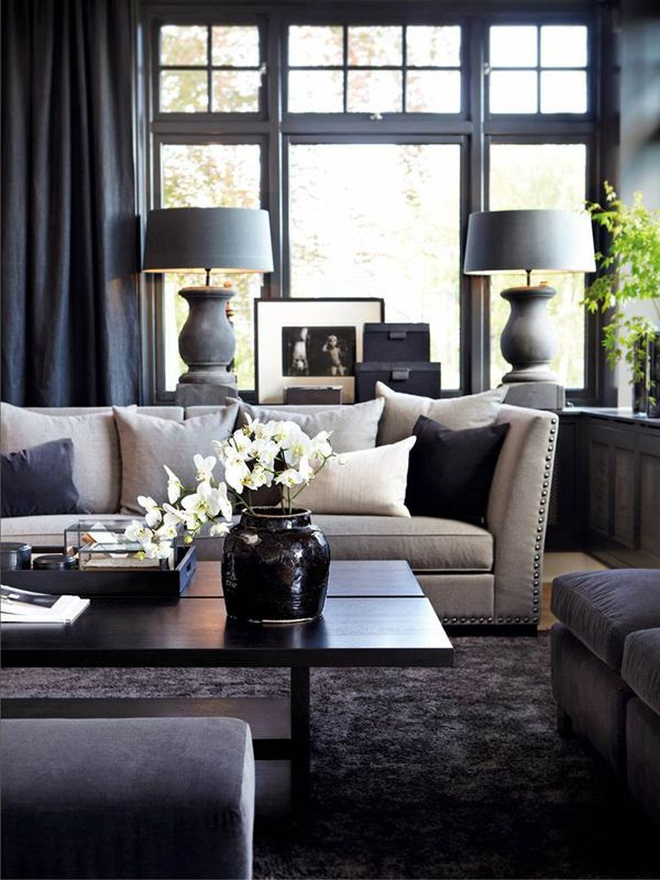 How to create an elegant space in a small living room for Elegant contemporary living rooms