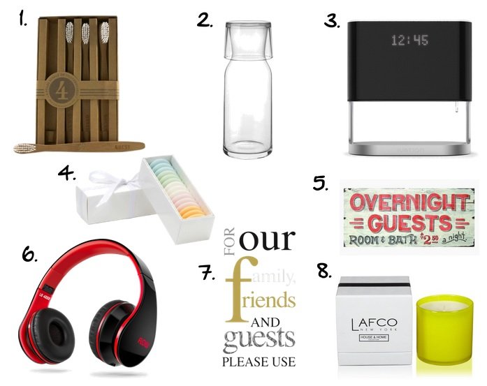 what to buy for guest room