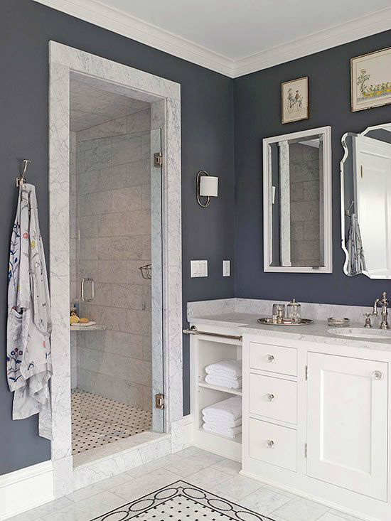 37 walk in showers that add a touch of class and boost 2 color bathroom paint ideas