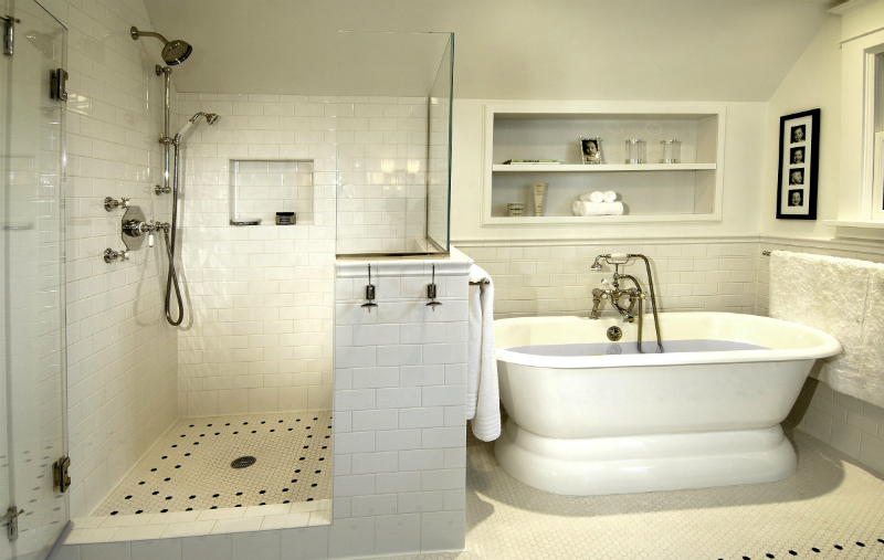 37 walk in showers that add a touch of class and boost - What do i need to clean my bathroom ...