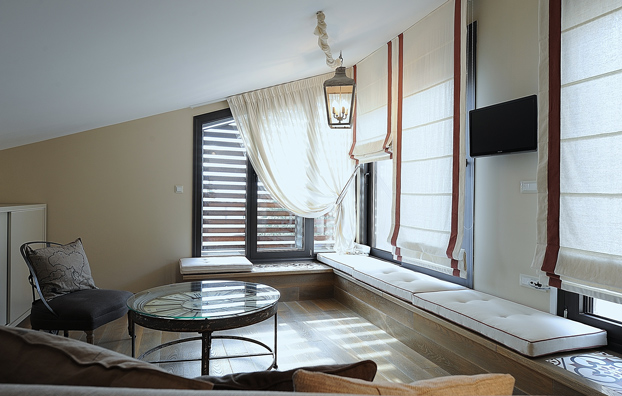 shades and blinds allow you to dress your windows in