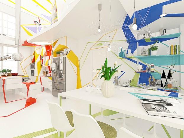 Expressionism interiors 10