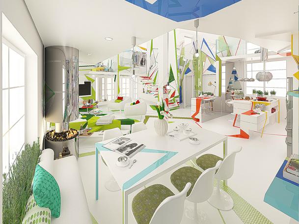 Expressionism interiors 12