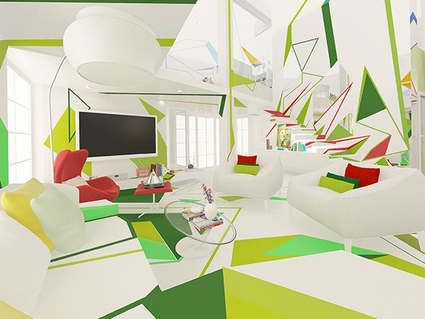 Expressionism interiors 16