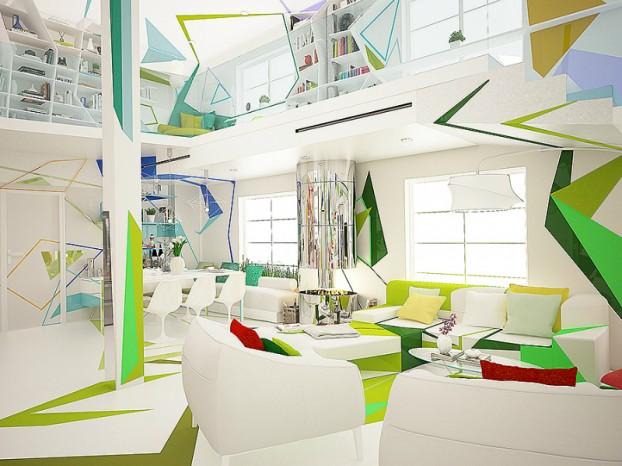 Expressionism interiors 17