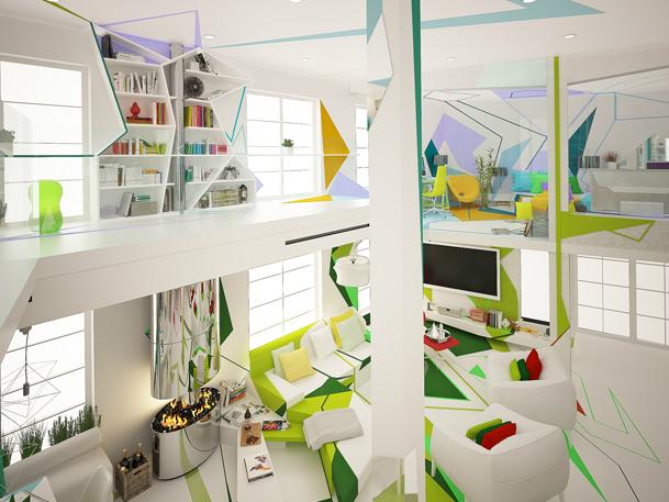Expressionism interiors 20
