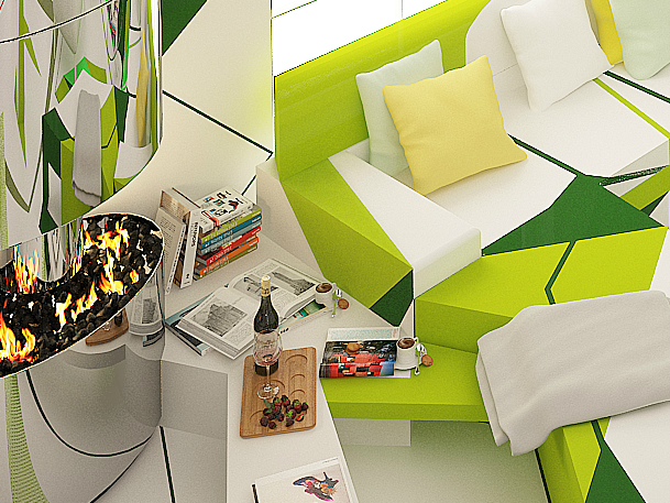 Expressionism interiors 21