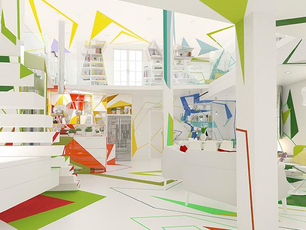 Expressionism interiors 22