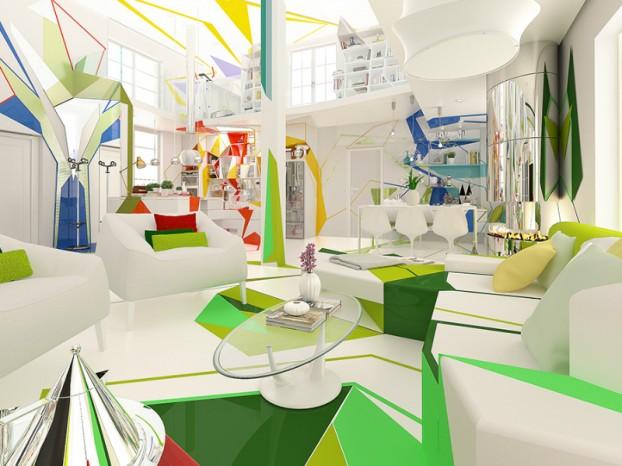 Expressionism interiors 23