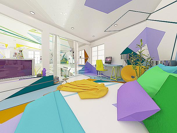 Expressionism interiors 27