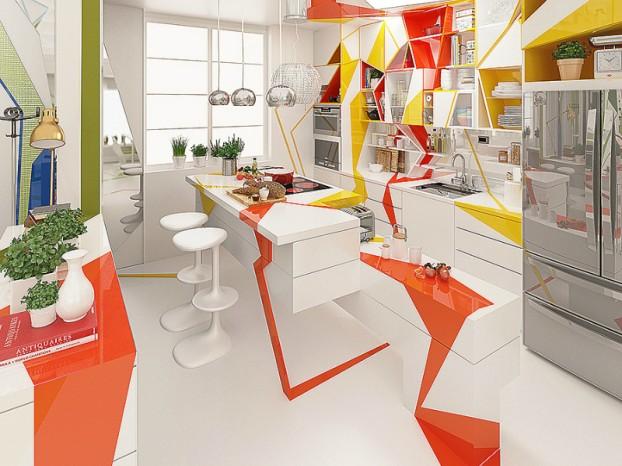 Expressionism interiors 3