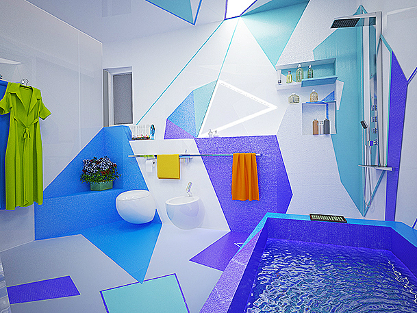 Expressionism interiors 33