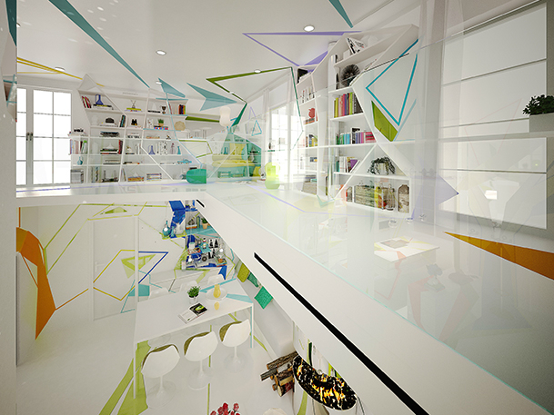 Expressionism interiors 36