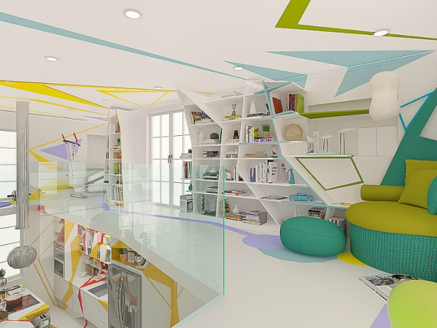 Expressionism interiors 37