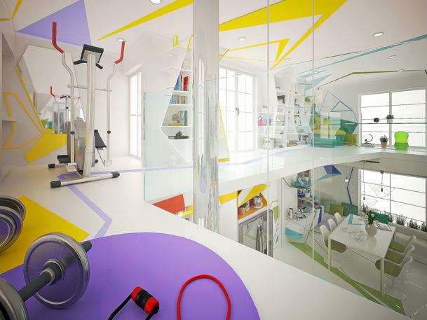Expressionism interiors 39