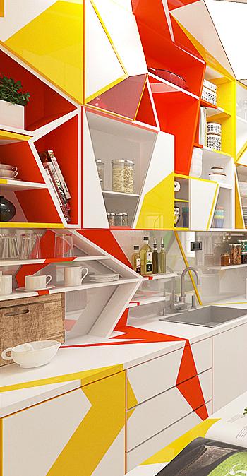Expressionism interiors 4
