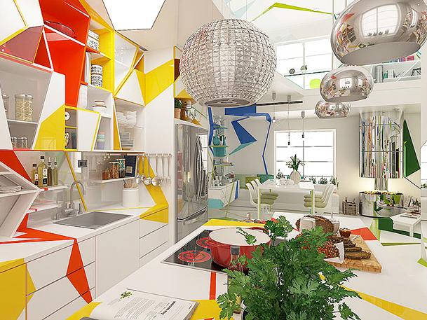 Expressionism interiors 5