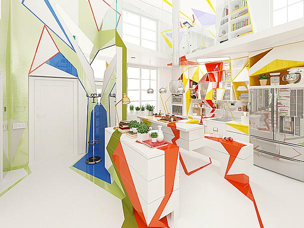 Expressionism interiors 8