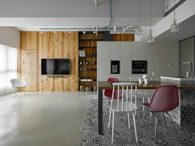 Masculine Apartment With Outstanding Design 3