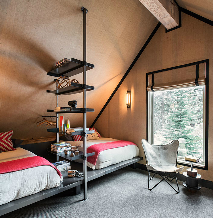 A Fun and Hip Ski Retreat in Tahoe 12