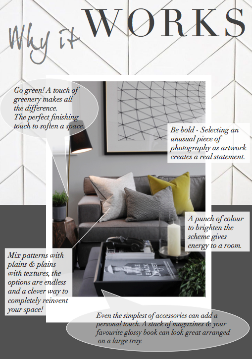 black white gray yellow living room how it works