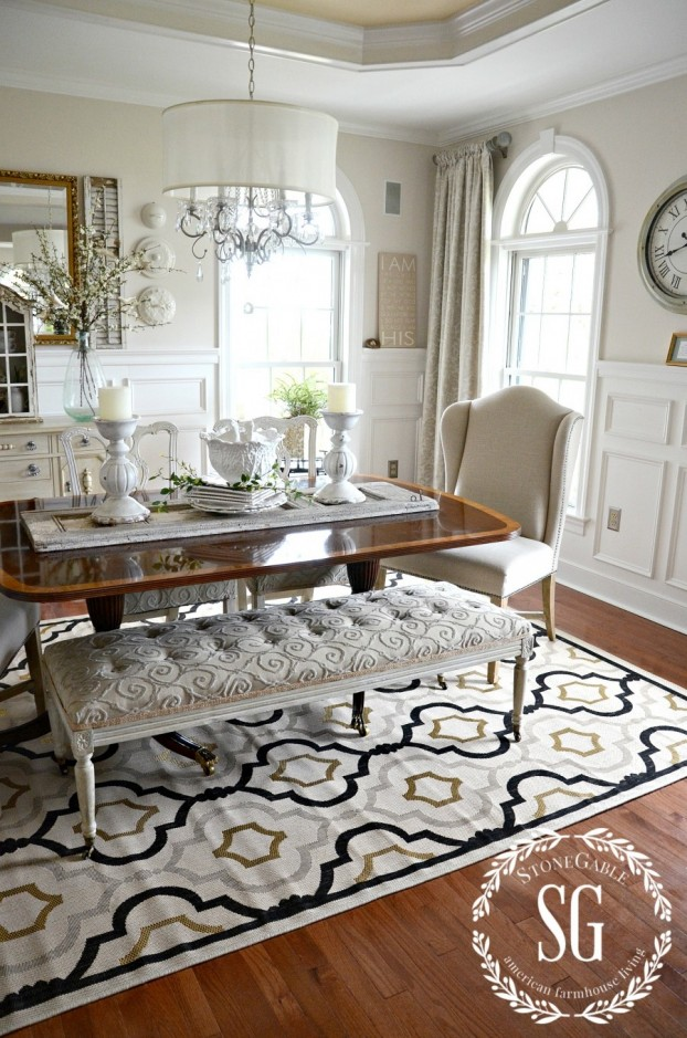rug is the Saybrook from Ballard Designs.