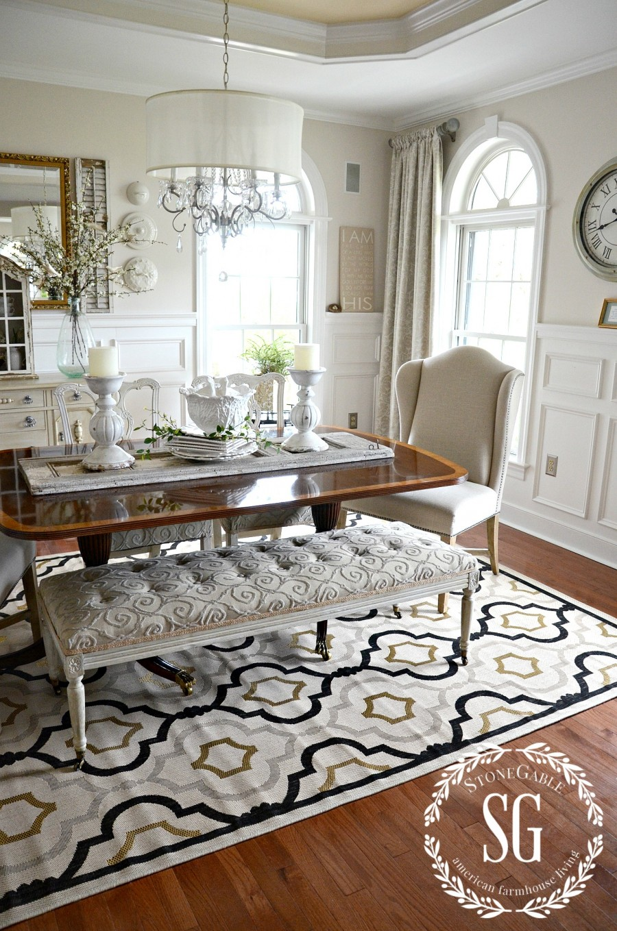 The importance of a rug decoholic for Ballard designs dining room