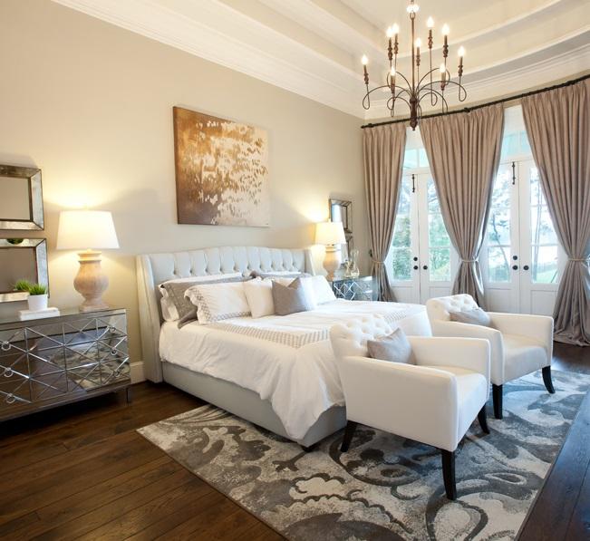 Bedroom Beautiful Gray Rug Idea