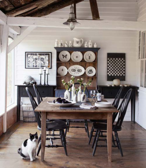 country dining room with character 8