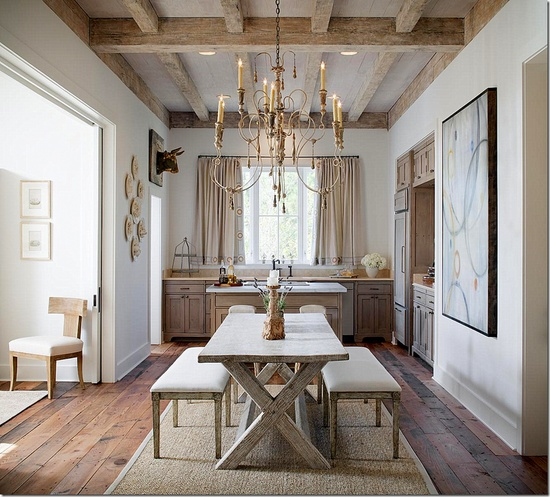 country dining room with character 9