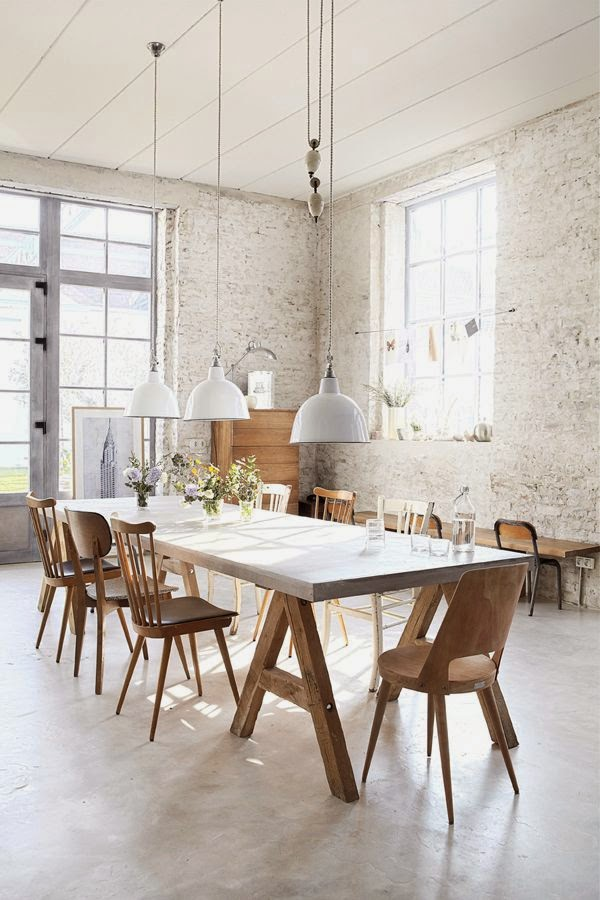 country dining room with character 11