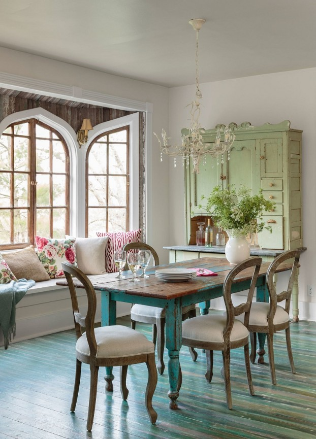 country dining room with character 88