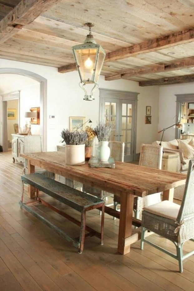 country dining room with character 7