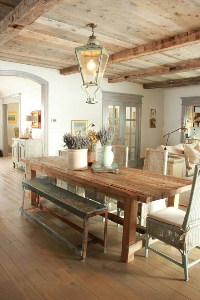 Amazing Country Dining Room With Character 7 ...