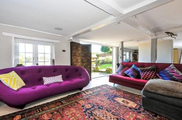 Alexander McQueen's home