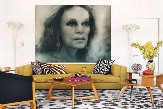 Diane von Furstenberg's home