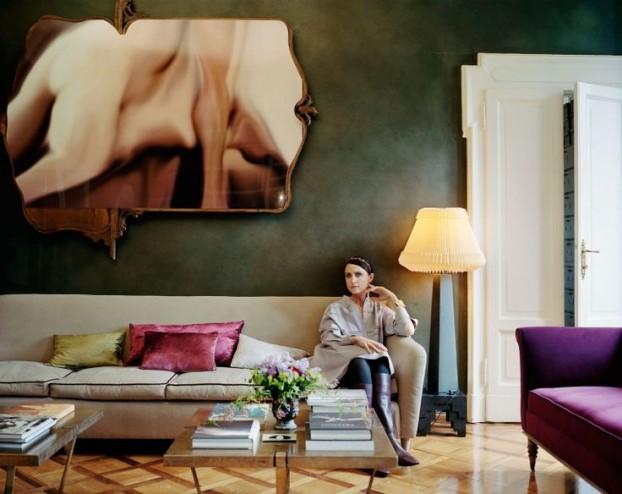 Tod's Creative Director Alessandra Facchinetti's home
