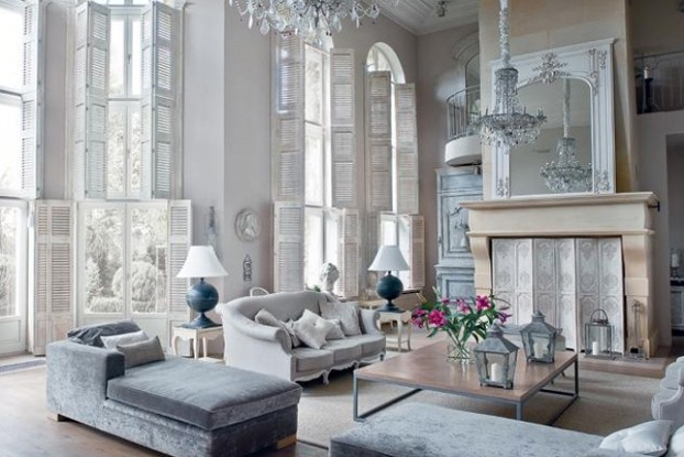 traditional formal elegant interior design
