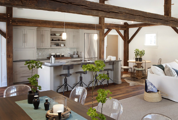 Rustic Meets Modern In This Beautiful Kitchen