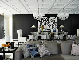 Contemporary House In A Palette Of Predominantly Black And White 4