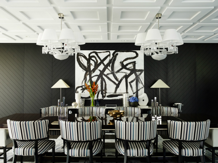 Contemporary House In A Palette Of Predominantly Black And White 5