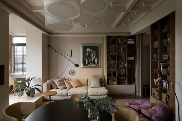 Contemporary Small Apartment Design 2