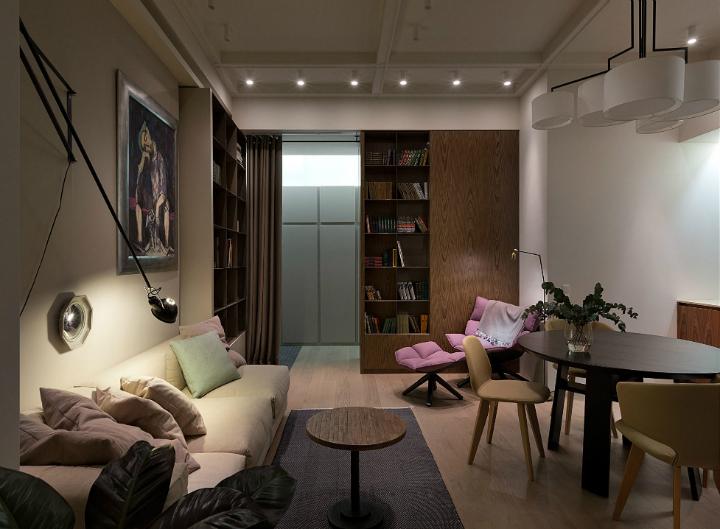Contemporary Small Apartment Design 3