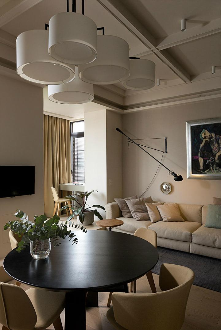Contemporary Small Apartment Design 4