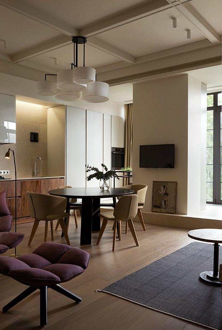 Contemporary Small Apartment Design 7