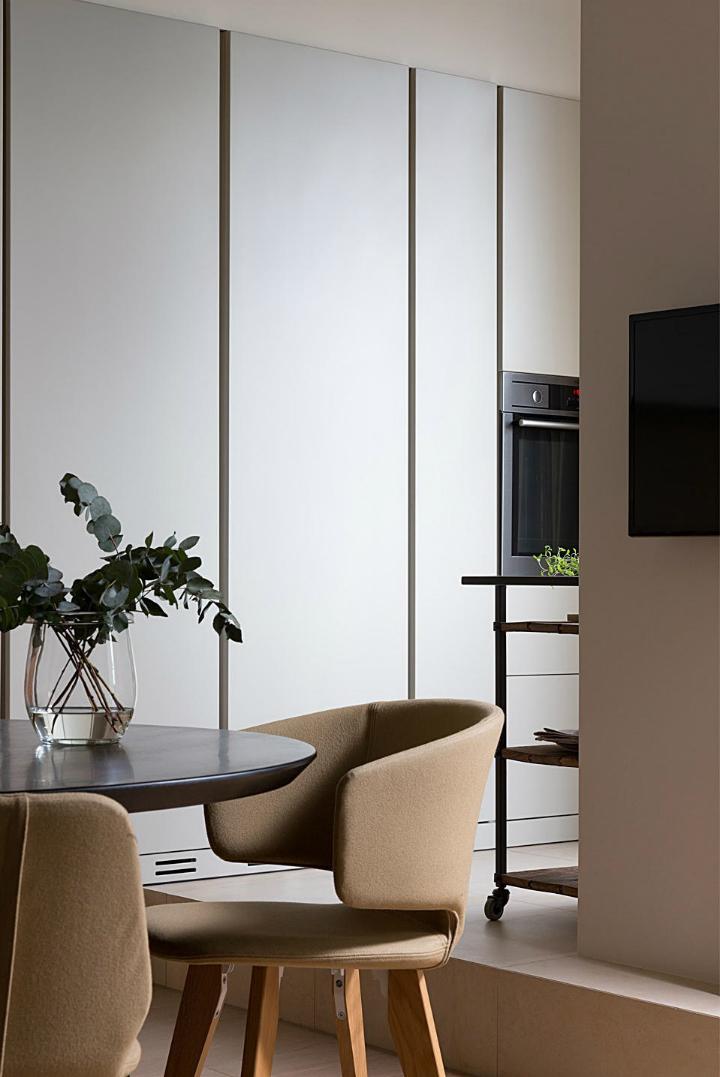 Contemporary Small Apartment Design 8