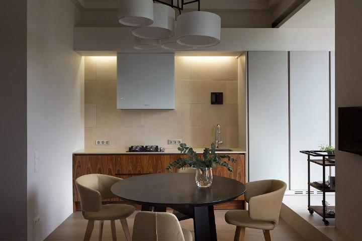 Contemporary Small Apartment Design 9