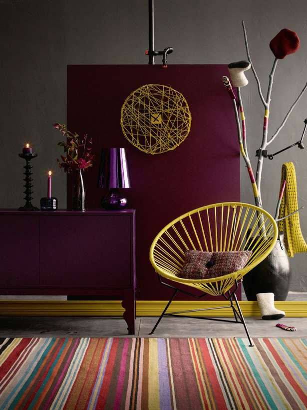 Decorating With Berry Hues And Mustard Colors Decoholic