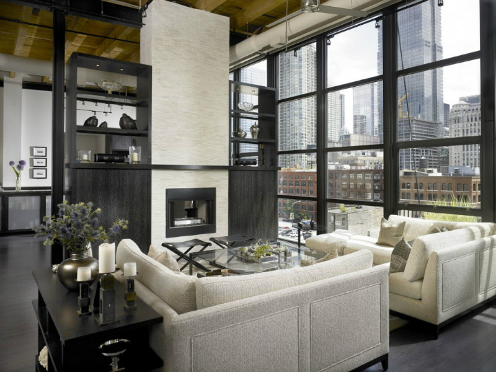 Dramatic Yet Comfortable Urban Loft 2